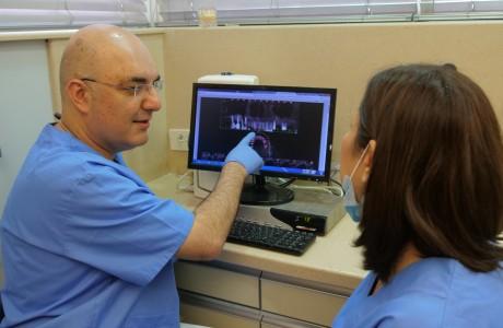 צילום שיניים דיגיטלי במרפאה